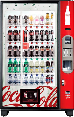 Large Coke Machine