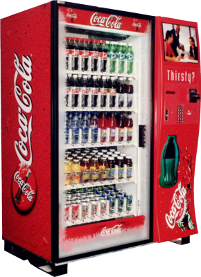 Full Size Coke Machine